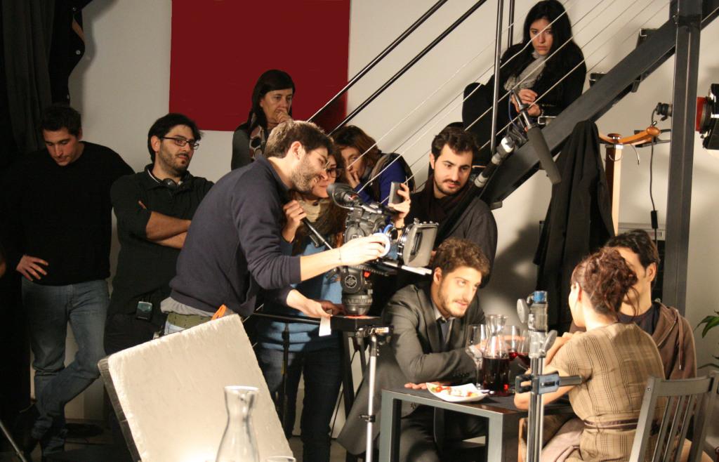 Elisabetta Lodoli sul set (slider)