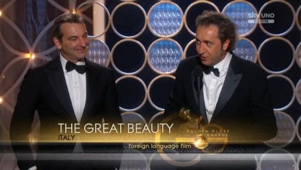 Paolo Sorrentino Nicola Giuliano La grande bellezza Golden Globe